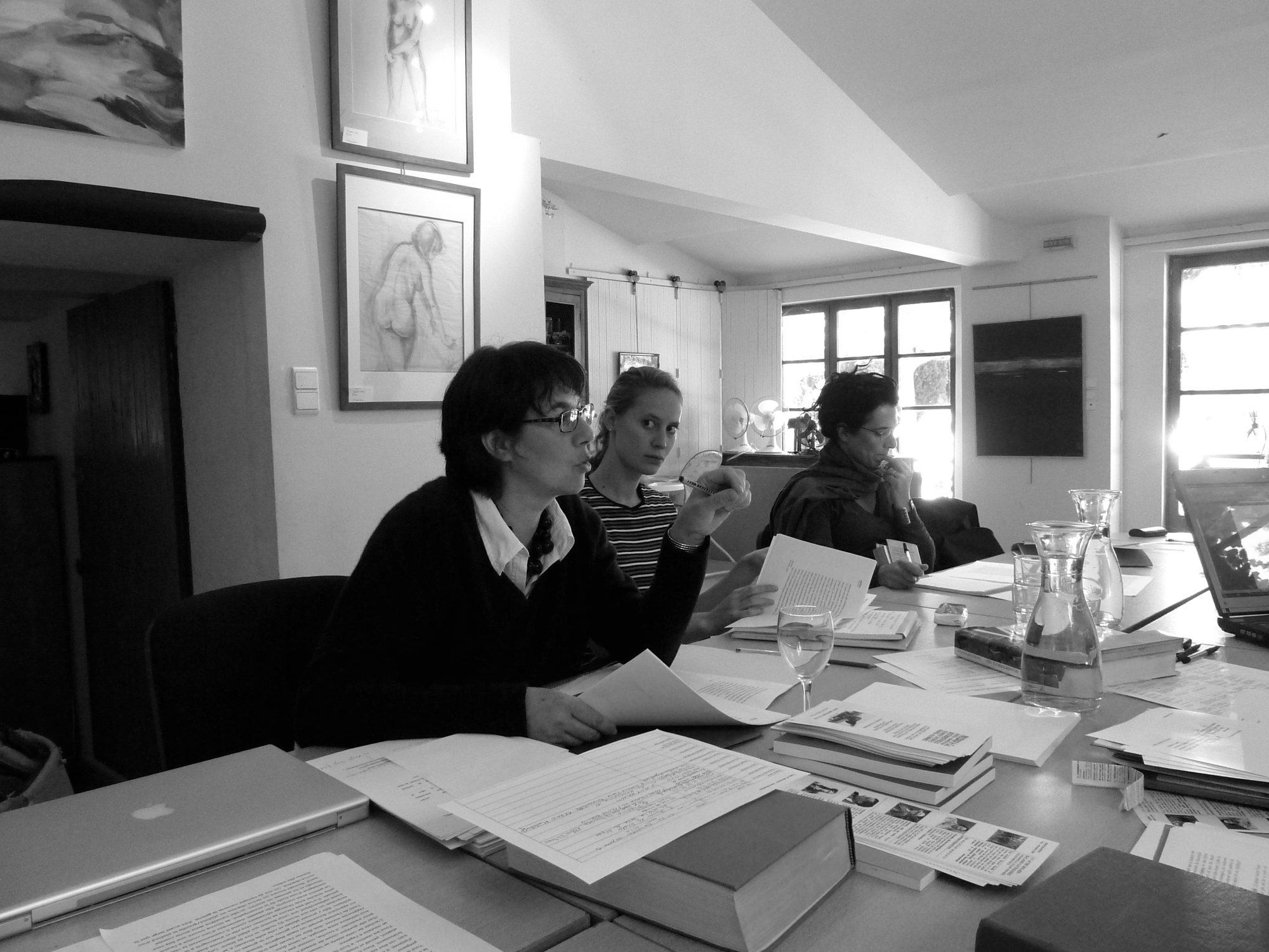 Workshop für Literaturübersetzerinnen (Pourrières 2010)