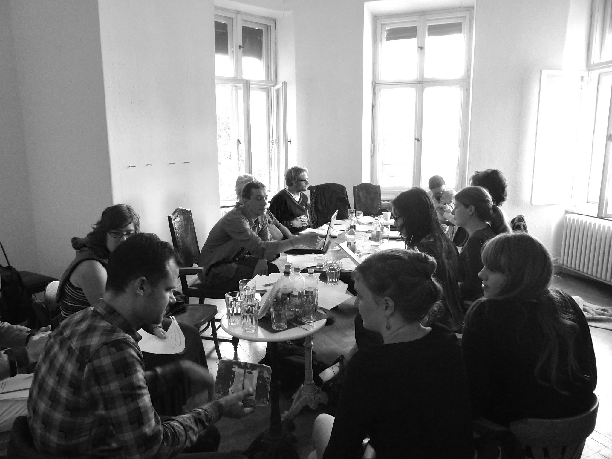 Workshop für Literaturübersetzer/innen (Lettréatage, Berlin 2012)