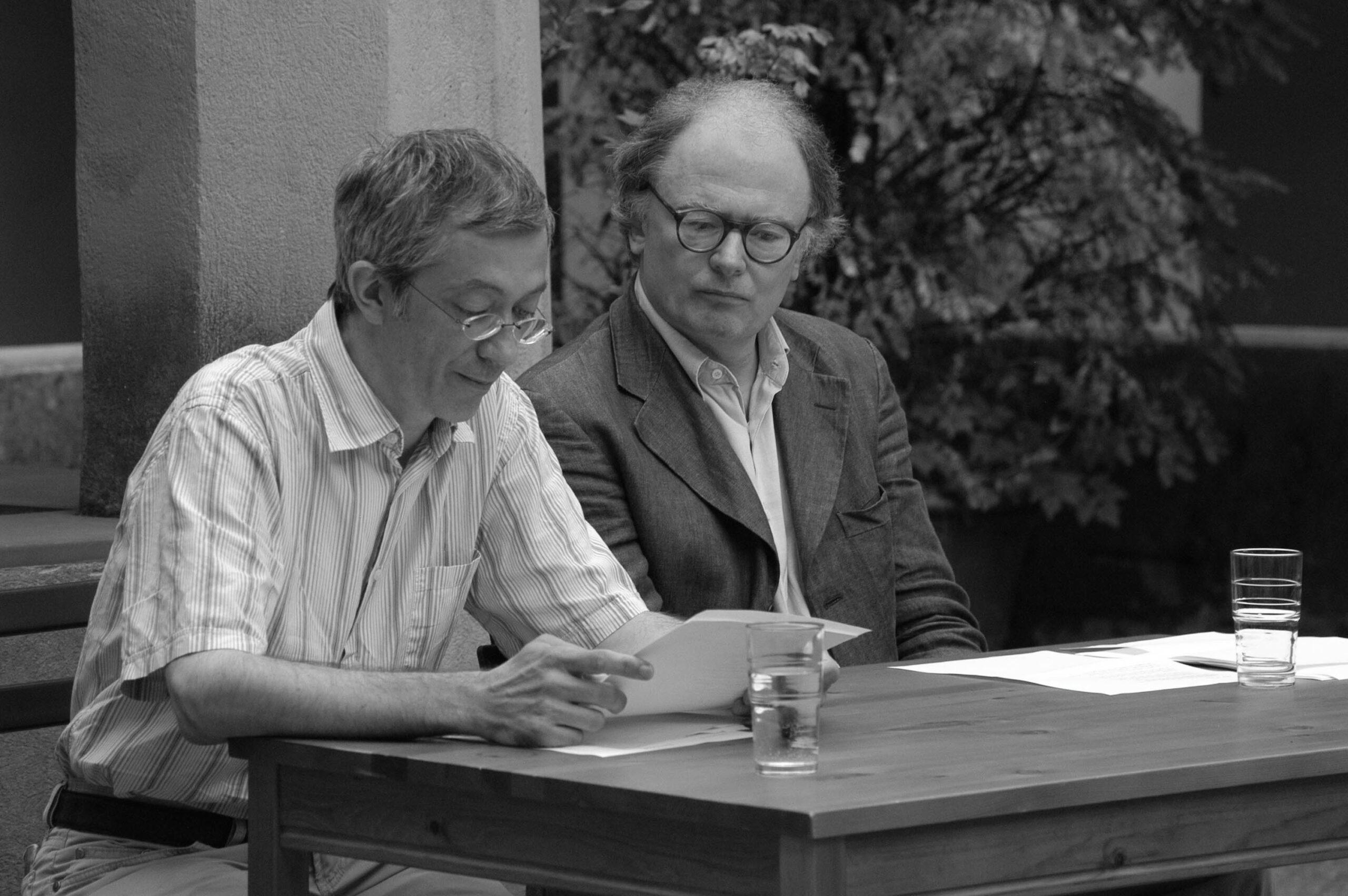 Jean-René Lassalle, Franz Josef Czernin (Saorge 2006)