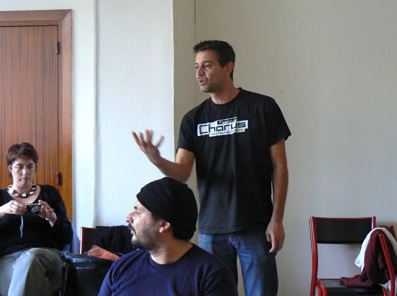 Atelier Slam avec Eric Cartier, Marseille 2009